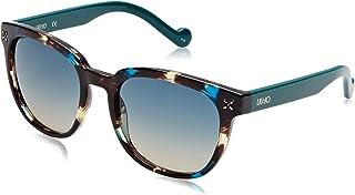 ليو جو نظارة شمسية للنساء ، ازرق- LIU JO LJ672S-311 5419