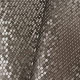 Hongma Kunstleder Stoff Wabenmuster als Bezugstoff