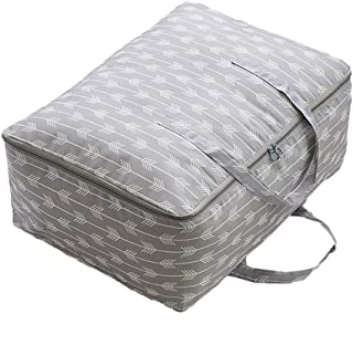 Housse de rangement couette,poches en tissu Oxford, sacs de tri pour vêtements, sacs de rangement pour couettes, sacs d'em...
