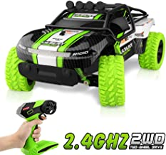 Growsly Remote Control Car RC Car for Kids Toy Off Road Vehicle 1/16 2.4 GHZ High Speed Racing Car Rechargeable Hobby RC Trucks