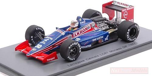 online barato Spark Model S4819 Lola LC87 P.ALLIOT 1987 1987 1987 N.30 Retirojo Monaco GP 1 43 Die Cast Compatible con  compra en línea hoy