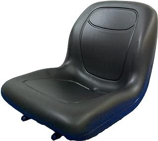 MILSCO Black Seat for John Deere Compact Tractors 670,770,790,870,970,990,1070,4005