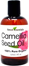 Organic Camellia Seed Oil   Imported From Japan   4oz Bottle   100% Pure   100% Organic   For Hair & Skin Use   Japanese B...