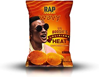 Rap Snacks Potato Chips 2.75 oz Bag (Lil Boosie Louisiana Heat, 1 Pack)