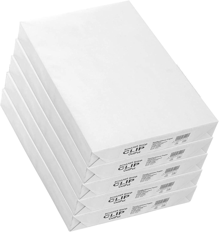 SCHÄFER SHOP Multifunktionspapier CLIP Output, DIN A3, 80 q m², 2500 Blatt, weiß B07H99VGW3 | Spielen Sie auf der ganzen Welt und verhindern Sie, dass Ihre Kinder einsam sind