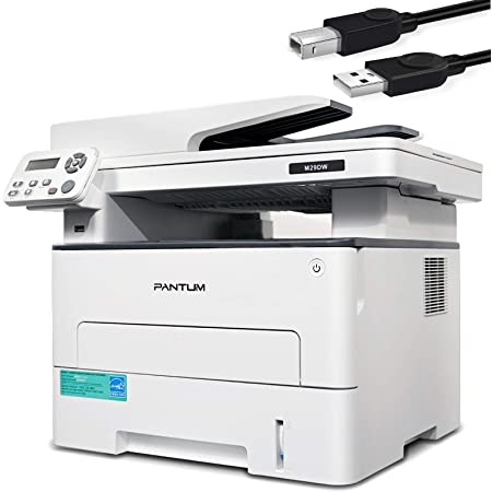 35 Pages Per Minute Pantum M7102DW Laser Printer Scanner Copier 3 in 1 Wireless Connectivity and Auto Two-Sided Printing with 1 Year Warranty