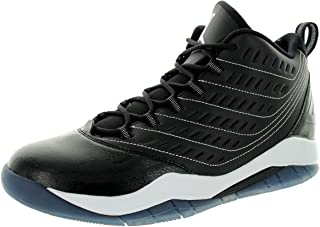 Nike Jordan Mens Jordan Velocity Black/White/White Basketball Shoe 10 Men US