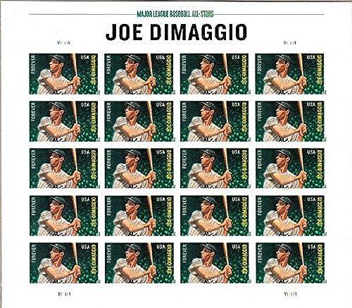 de moda Joe Dimaggio U.S. Forever Sheet Sheet Sheet of 20 Foreve Stamps Scott 4697 By USPS by USPS  descuento