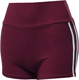 Made by Emma Women's Casual Elastic Waistband Workout Running Athletic Active Shorts