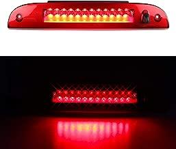 LED 3rd Brake Light for 2002-2010 Ford Explorer, Third Centre High Mount Cargo Lamp Assembly (Red Lens)