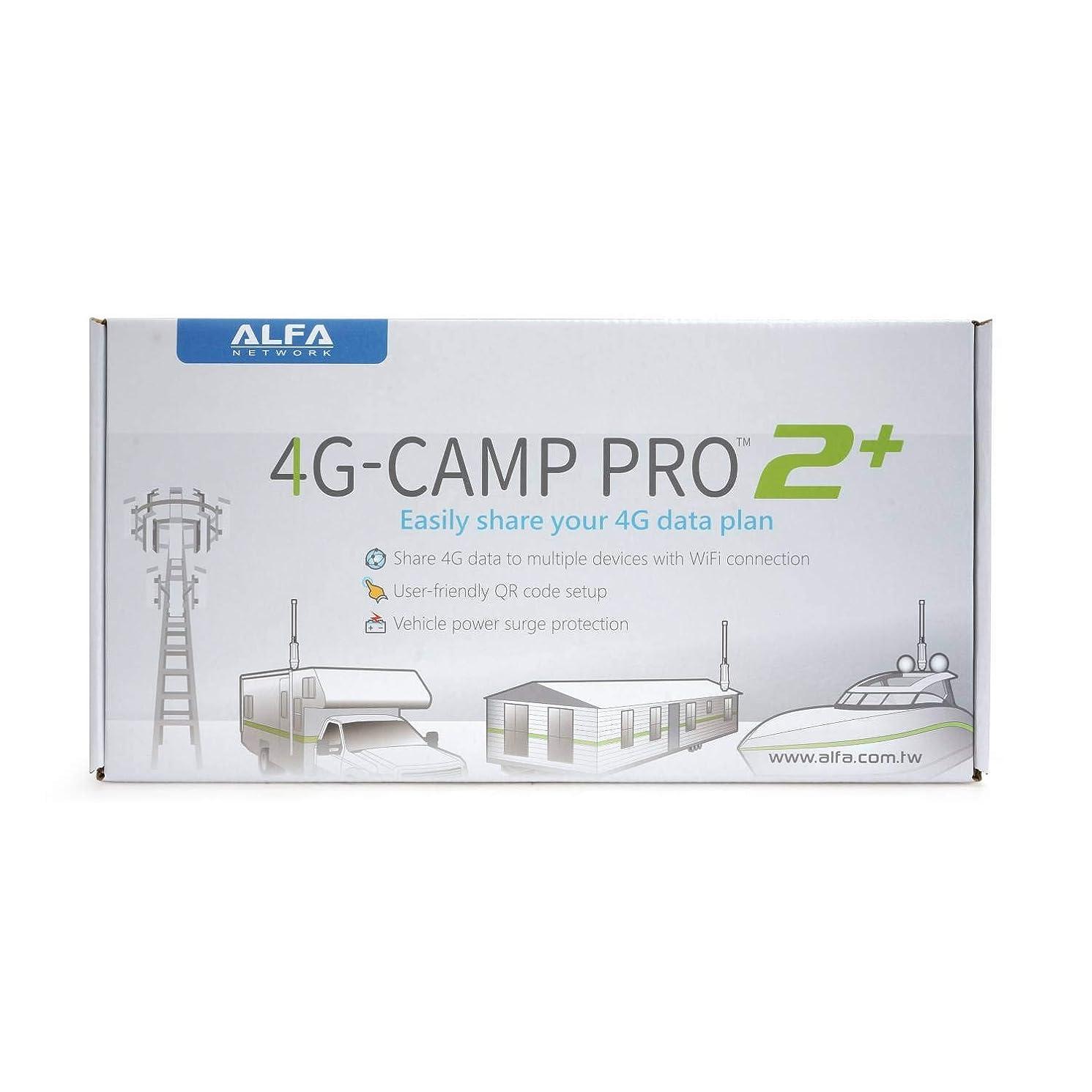 積分筋肉の等しいAlfa 4G Camp-Pro 2