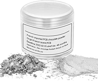 HomeHere Silver Luster Dust Edible Cake Sliver Dust, Silver, 7 Grams