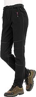 comprar comparacion DENGBOSN Pantalones Montaña Mujer Pantalones de Nieve Impermeables Invierno Calentar Pantalones Trekking Escalada Senderis...