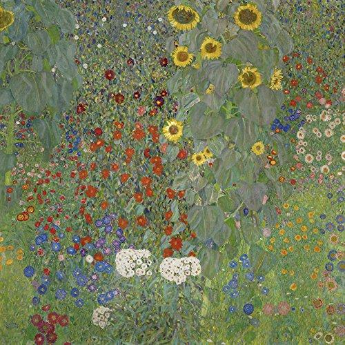 Artland Gustav Klimt: Garten mit Sonnenblumen