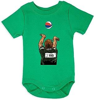 Silo Shirts Green Bird Boston 3 Point Contest Baby 1 Piece