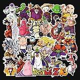 Neue Anime Dragon Ball Aufkleber Blu-ray Hd Einfach Zerrissene Aufkleber Sammelalbum Skateboard Notebook Doodle wasserdichte Aufkleber Pack 100 stücke