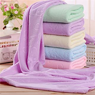 KAIQINMJ 70 X140cm Microfiber Absorbent Bath Towel Soft Shower Towel Soft Quick drying Washcloth