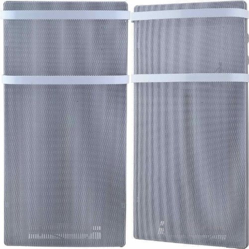 Syntrox Germany elektrische Bad-Wärmewelle mit 2 Handtuchhaltern