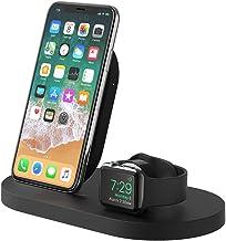Belkin drahtlose BoostUp Ladestation für iPhone und Apple Watch mit USB-A-Port (Ladestation für iPhone12, 12Pro, 12Pro ...