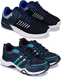 Earton Combo Pack of 2 Sports and Running Shoes for Men