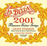 La Bella 653836 Corde per Chitarra Classica Professional Studio, 2001 Flamenco, Light...