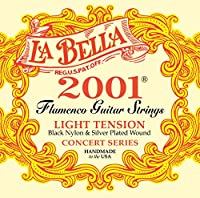 La Bella(ラベラ) フラメンコギター弦 2001 Flamenco Light ライトテンション 2001FL LT