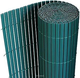 [neu.haus] Estera de PVC (200x300cm) (verde) protector contra el viento - pantalla de privacidad, para jardín, balcón y terraza