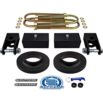 2 Front Leveling Lift Kit For 2003-2019 GMC Savana 1500//2500 3500 2WD Heavy Metal Suspensions