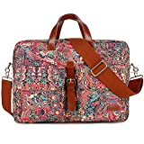 BAOSHA Las mujeres maletín bolsos del ordenador portátil para 15.6 pulgadas 17 pulgadas portátil ordenador portátil Bolsas de hombro bolsa de trabajo BC-07
