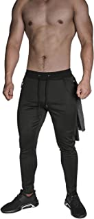 MAIKANONG Men's Tapered Joggers Utility Field Active Sports Running Sweatpants