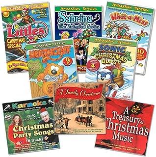 Christmas DVD/CD/Karaoke BIG BUNDLE 8 pack