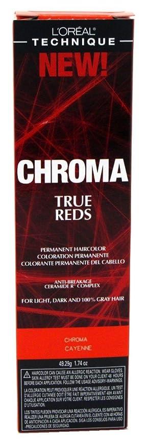 L'Oreal Technique Chroma True Reds - Chroma Cayenne - 1.74oz / 49.29g