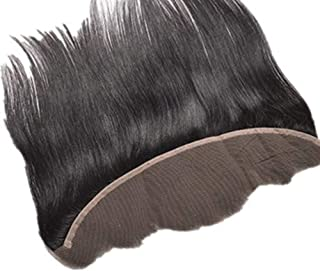 Hair Extension Weave Fashian Real Hair Wig Human Hair Natural Color Hair Piece Beautiful Hairpieces (Color : Black, Size : 18 inch)