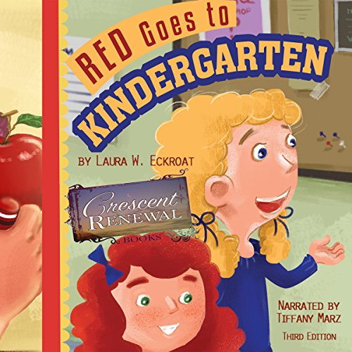 Red Goes to Kindergarten audiobook cover art