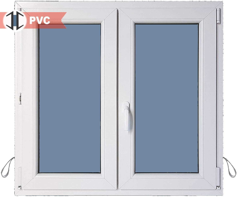 Ventana PVC Practicable Oscilobatiente 2 hojas 1200 ancho x 1000 alto: Amazon.es: Bricolaje y herramientas