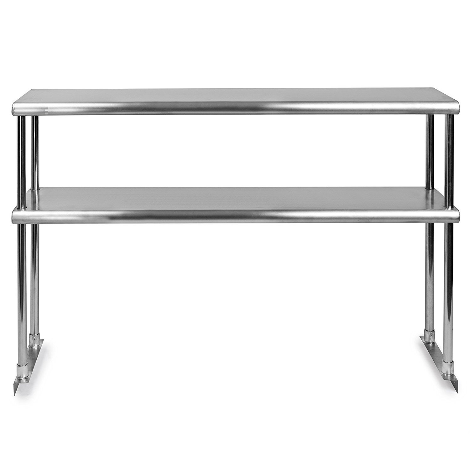 Stainless Steel Double Overshelf for Cheap mail OFFicial mail order order shopping Prep Work 60 x Table - N 14