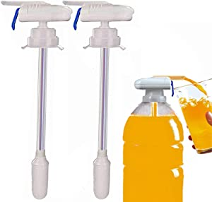2pack Electric Automatic Tap,Automatic Drink Dispenser,Milk Dispenser,Simple One-Handed Operation, Hands-Free, Can Prevent Milk and Beer From Overflowing, Suitable for Outdoor and Home Kitchens