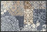 Wash+Dry Felpudo, Poliéster, Gris, 50 x 75 cm