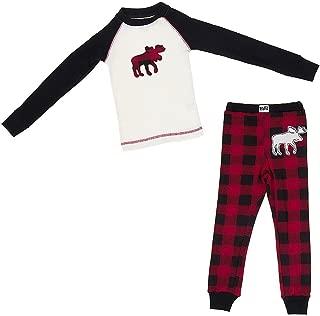 Lazy One Kids Children PJ Pajamas Sleepwear Toddler Crabby In Morning Crab Red