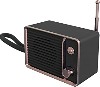 $59 » EODUDO-S Audio Mobile Phone Portable Rechargeable Mini Retro Bluetooth Speaker Radio Cute Outdoor Mini Speakers Travel Mus...