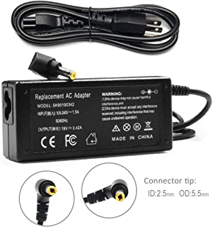 65W Laptop Charger for Asus X551 X555L X555LA X501 X550 X401 Toshiba Statellite L15 L20 L25 AC Adapter Power Supply Cord