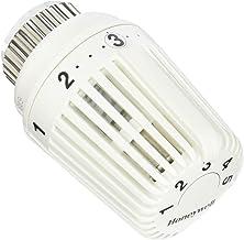 Bianco Honeywell T300120W0 Testa Termostatica con Chiusura Totale e Sensore Remoto