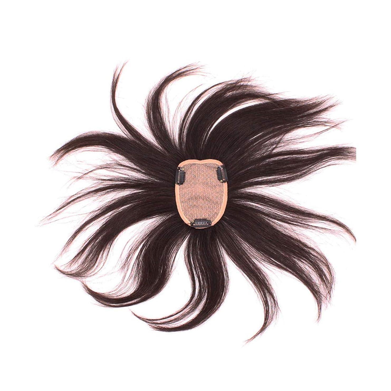 慣習代理人ネコKoloeplf 現実的な自然のウィッグの再発行フルハウス織物リアルヘアウィッグレディース (Color : Natural black)