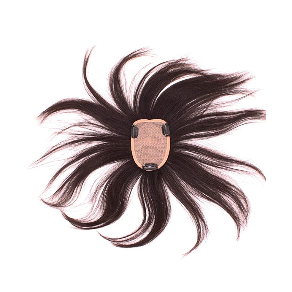 電話をかけるとげメイエラKoloeplf 現実的な自然のウィッグの再発行フルハウス織物リアルヘアウィッグレディース (Color : Natural black)