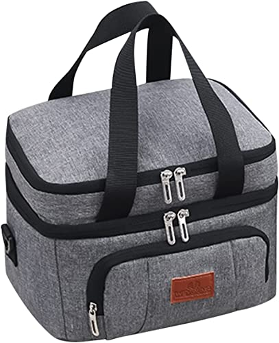 discount Insulated Lunch Bag popular Soft Cooler Cooling Tote for Adult outlet sale Collapsible Cooler Backpack 24-Can Coke Cooler Tote Bag Organizer for Outdoor Camping/Trekking/Picnic/BBQ,15L ,SegkopuoL online