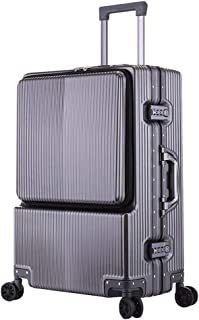 Trolley Case - Fashion PC Aluminum Frame Trolley Case/Standard Boarding Suitcase / 31 Inch / 43.5 * 66 * 36cm Well Made