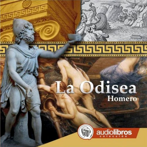 La Odisea [The Odyssey] audiobook cover art