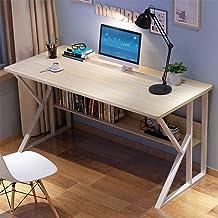 Modern Sturdy Office Desk,Yirise Simple Home Desk Student Writing Desktop Desk Modern Economic Computer Desk Modern Work W...