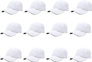 Gelante Plain Blank Baseball Caps Adjustable Back Strap Wholesale LOT 12 PC'S
