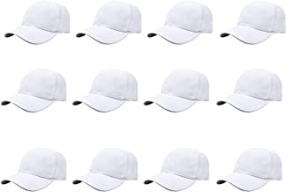 Gelante Plain Blank Baseball Caps Adjustable Back Strap Wholesale LOT 12 PC'S